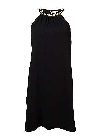 d6accffab1531 Calvin Klein Womens Plus Crepe Halter Cocktail Dress Black 4 at ...