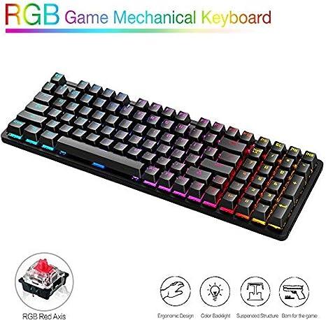WUXXXMini teclado mecánico para juegos con interruptores de ...