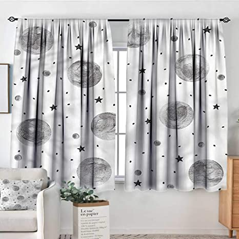 Amazon.com: Anzhutwelve Outer Space,Boys Bedroom Backout ...