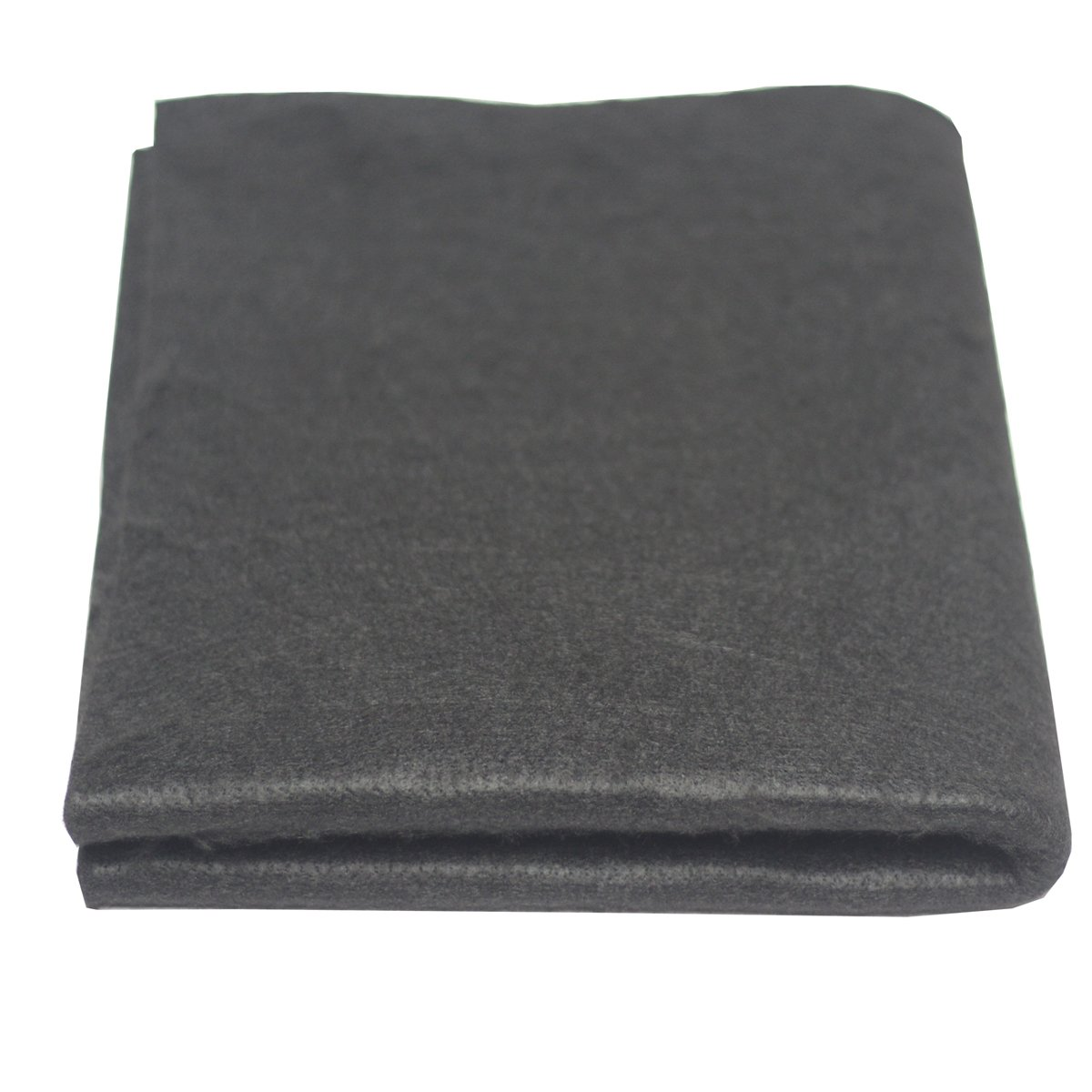High Temp 18'' X 24''(WL) x1/8'' Carbon Fiber Welding Blanket Protect Work Area from Sparks & Splatte (18 x 24 inches)