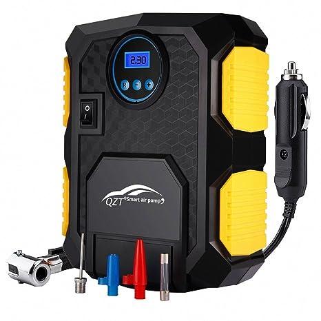 QZT Compresor de Aire, Comprimido PSI 150 con Pantalla Barométrica Gigital, con Cable de