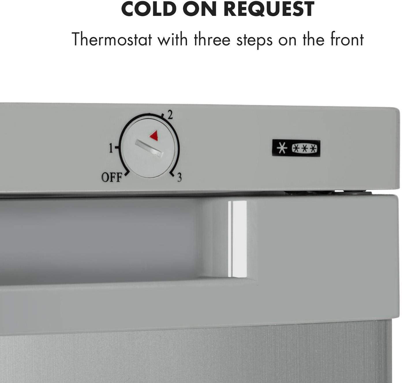 Klarstein Garfield XXL Congelador - Eficiendcia energética de tipo ...