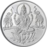 Sri Jagdamba Pearls 10 Grams Lakshmi Silver Coin 99 9 % Purity