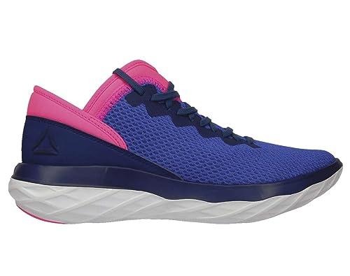 1967bcb73c190b Reebok Astroride Forever Shoe Women s Running 8.5 Acid Blue-Acid  Pink-Blue-White