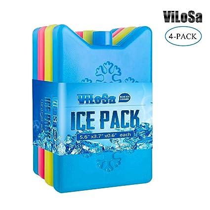 Amazon.com: ViLoSa - Bolsa de hielo para el almuerzo ...