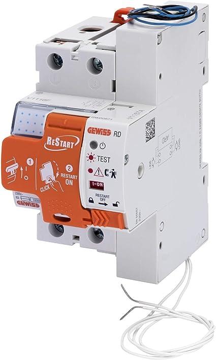 Interruptor diferencial dx-id Tornillo//Auto 2P 63 A 230 V AC Tipo 30 mA alto flujo 3 m Legrand LEG411633