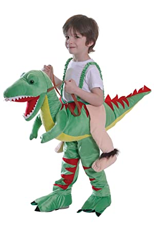 montar dinosaurio nios disfraz one size