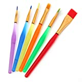 KINGSO 6pcs Cake Icing Decor Painting Brushes Fondant SugarCraft Craft Clay DIY Tool by King So