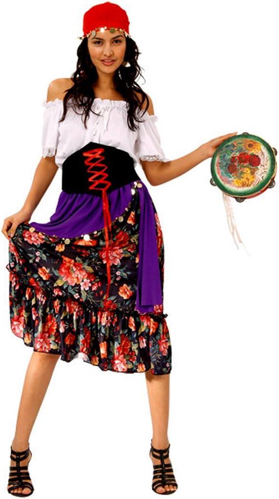 Boland 87382 - Disfraz de gitana para mujer (adulto) (talla L - 40 ...