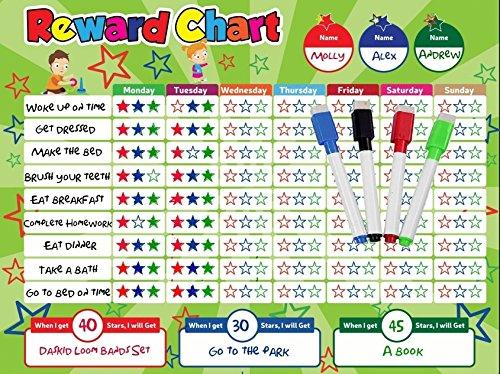 kids star chore chart - 7