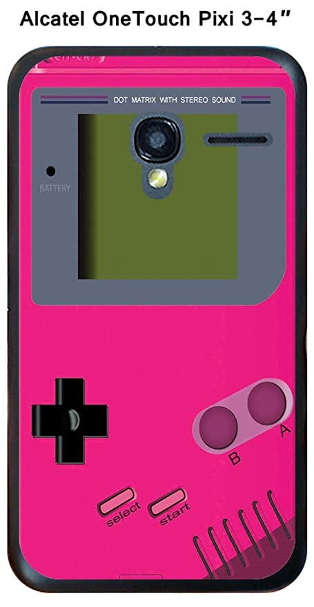 Carcasa Game Boy rosa Intense para Alcatel OneTouch Pixi 3 ...