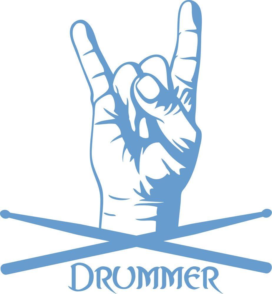 GRAZDesign Wandaufkleber Wohnzimmer Flur Drummer - Deko