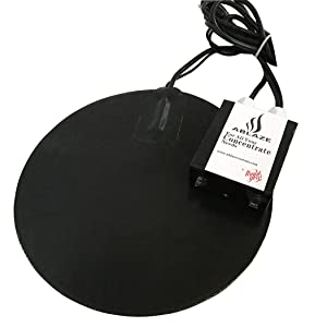 Ablaze 10 Inch Heat Digital Heat Vac Pad for Glass Stainless Steel Aluminum Vacuum Chamber