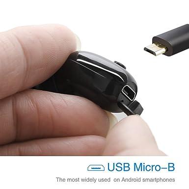 100% [IP68 impermeable natación auriculares Bluetooth] V4.2 Bluetooth inalámbrico, Auriculares, Sport auriculares, sudor prueba estable ajuste en la oreja ...