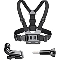VVHOOY Adjustable Chest Mount Harness for Gopro Hero 6/5 Black Hero 4 Session AKASO EK7000 APEMAN FITFORT ODRVM Campark Crosstour Action Camera Accessories
