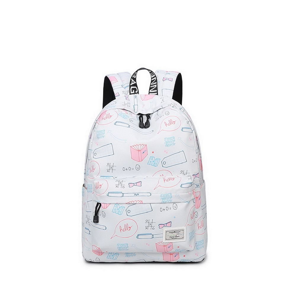 Teecho Girls Waterproof School Backpack Fashion 15.6'' Laptop Backpack for Teenager Stationery