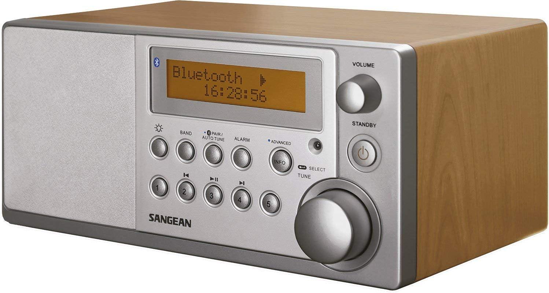 Sangean DDR3-1BT - Radio DAB (Reloj, digital, DAB+, FM, 4 W, 76.2 mm (3