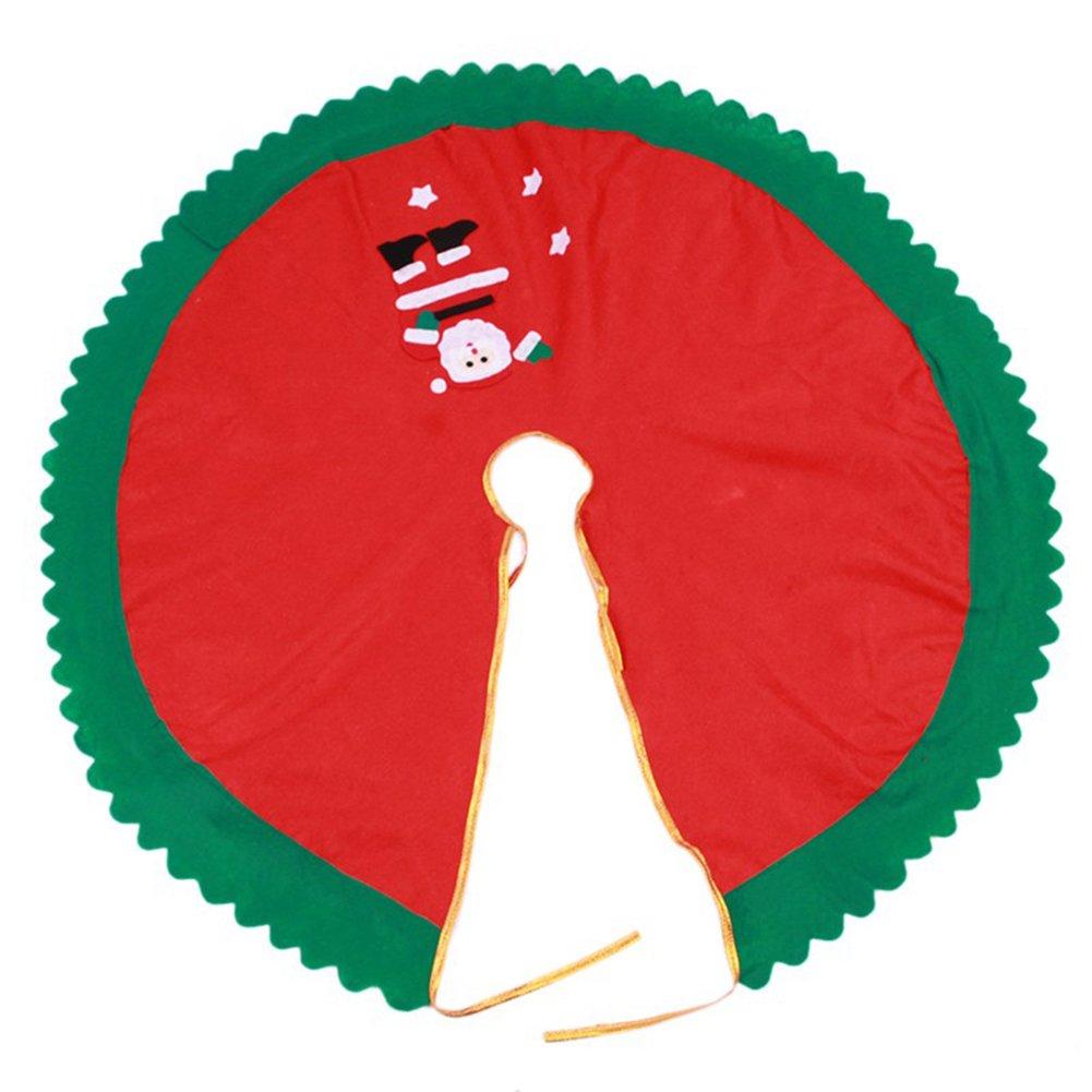 Vi.yo Adornos del /Árbol De Navidad Santa roja 90cm