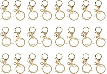 viaggi pesca Syolee 7 pezzi grande moschettone ad anello a D gancio durevole portachiavi accessori da campeggio per attivit/à allaperto escursionismo