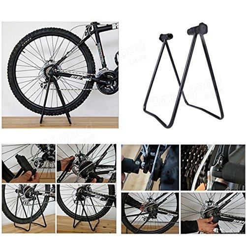 Moppi Bici bicicleta concentrador de triple rueda titular de soporte plegable de elevación pie de apoyo: Amazon.es: Deportes y aire libre