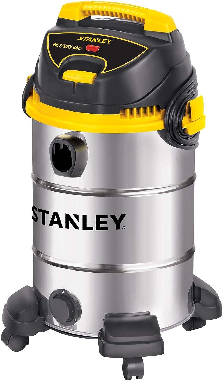 Stanley Aspiradora húmeda/seca, 8 galones, 4.5 caballos de fuerza, tanque de acero inoxidable: Amazon.es: Bricolaje y herramientas