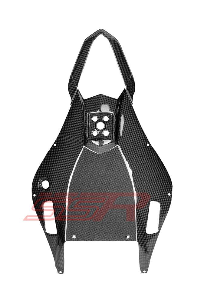 Yamaha YZF-R6 Carbon Fiber Fibre Rear Under Tail Lower Tray Cover Fairing 2006-2007