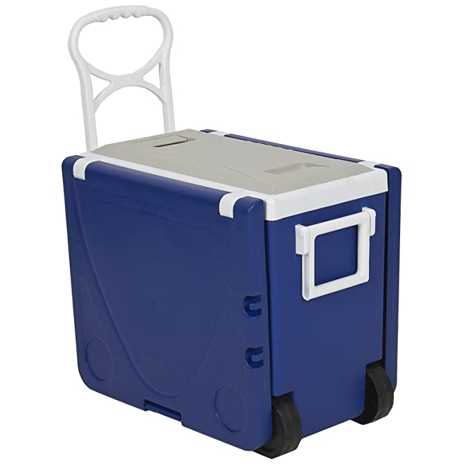 Amazon.com: Multi función Rolling Cooler con mesa y 2 sillas ...