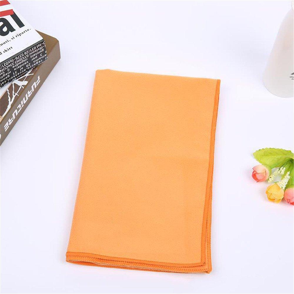 Toalla absorbente de la toalla de la microfibra del sentido frío del jabón de los deportes de la absorción del sudor toalla fresca de la yoga con el paquete ...
