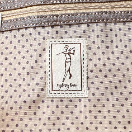 Sydney Love Classic Golf Shoulder Bag,Brown,One Size by Sydney Love (Image #5)