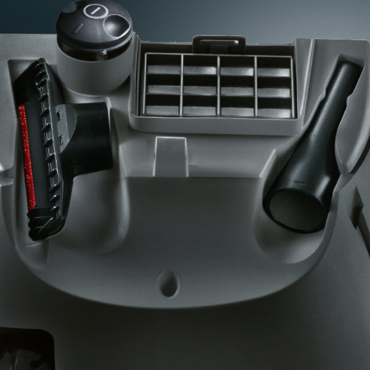600 W, Aspiradora cil/índrica, Secar, Bolsa para el polvo, 4 L, Filtro higi/énico Aspiradora Siemens VSZ3MULTI