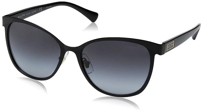 Ralph 0Ra4118 Gafas de sol, Ojos de gato, 54, Black: Amazon ...