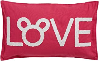 Ethan Allen | Disney Mickey Mouse Love Pillow, Minnie Pink