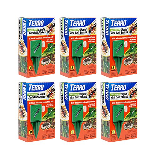 Terro T1812 Outdoor Liquid Ant Baits 6 (Liquid Bait)