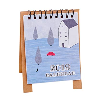 Amazon.com : 2019 Desktop Paper, mikolot Cute Cartoon Mini ...