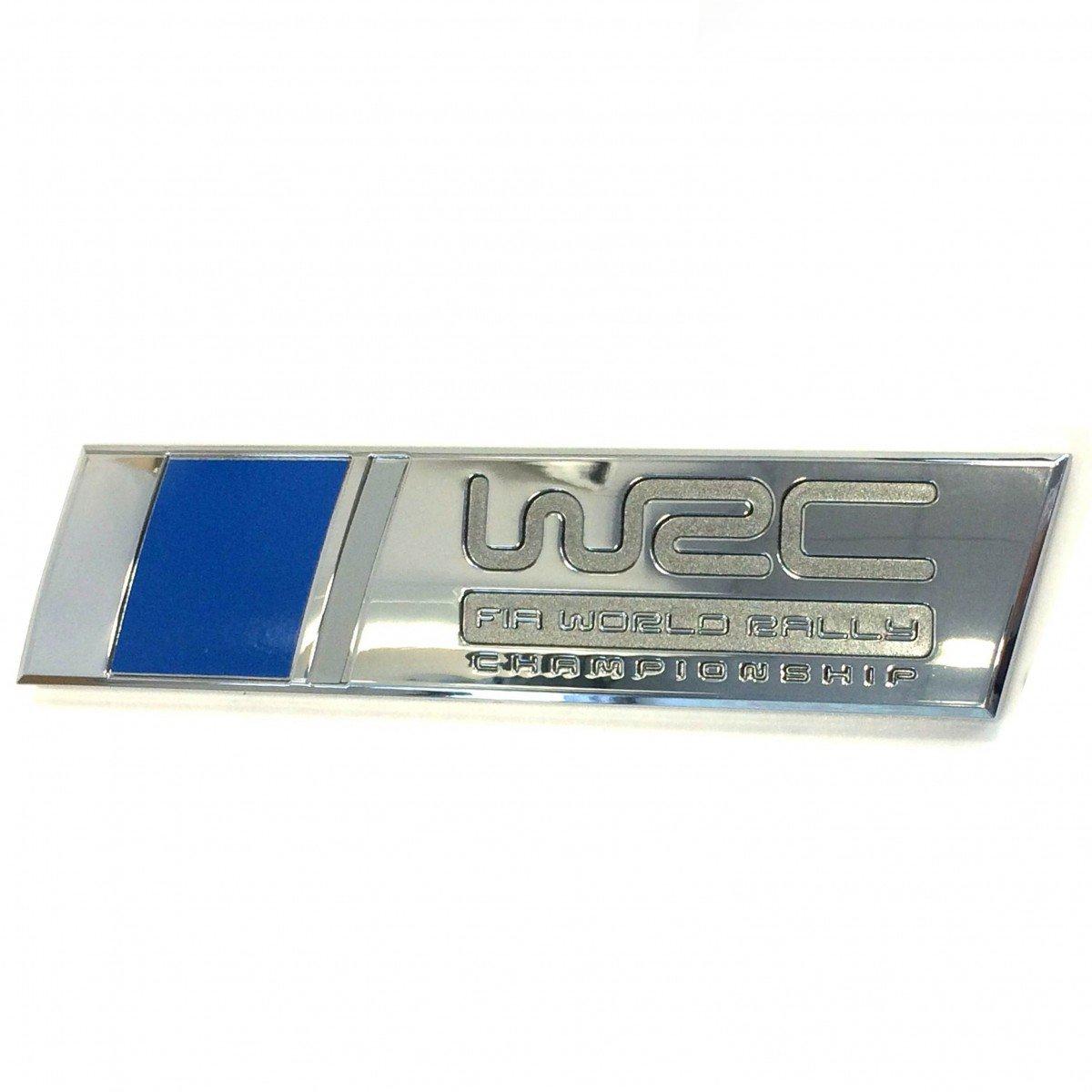 6R0853675R FM8 Original VW FIA WRC POLO Rear Boot Badge Emblem