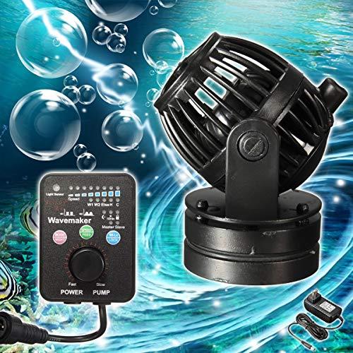 Pumps, Parts & Accessories Jebao RW4 110V-220V Wavemaker with Controller Wireless Wave Maker Aquarium Pump