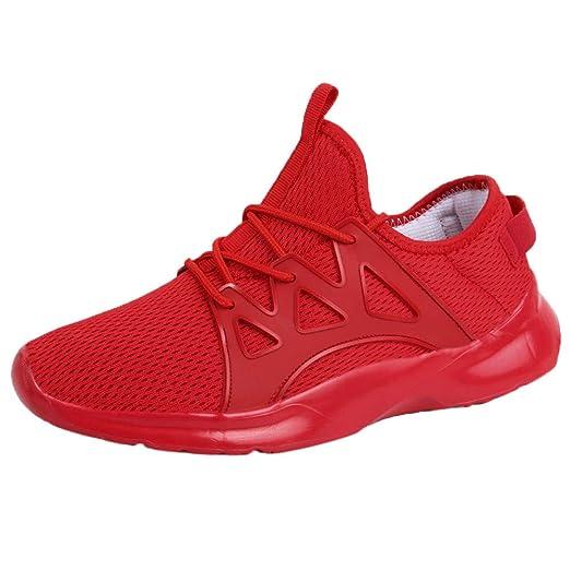 5b1efb8fc40aa Amazon.com: Sneaker News! Men's Running Shoes WANQUIY Fashion ...