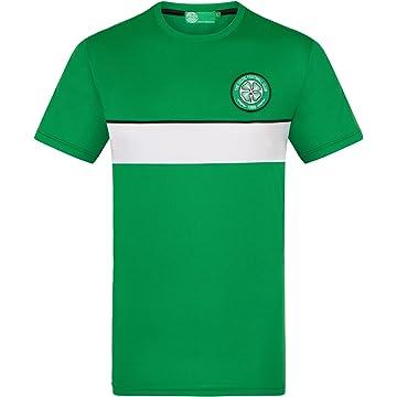 buy online fc0ca c6504 Celtic Football Club Official Soccer Gift Mens Poly Training Kit T-Shirt