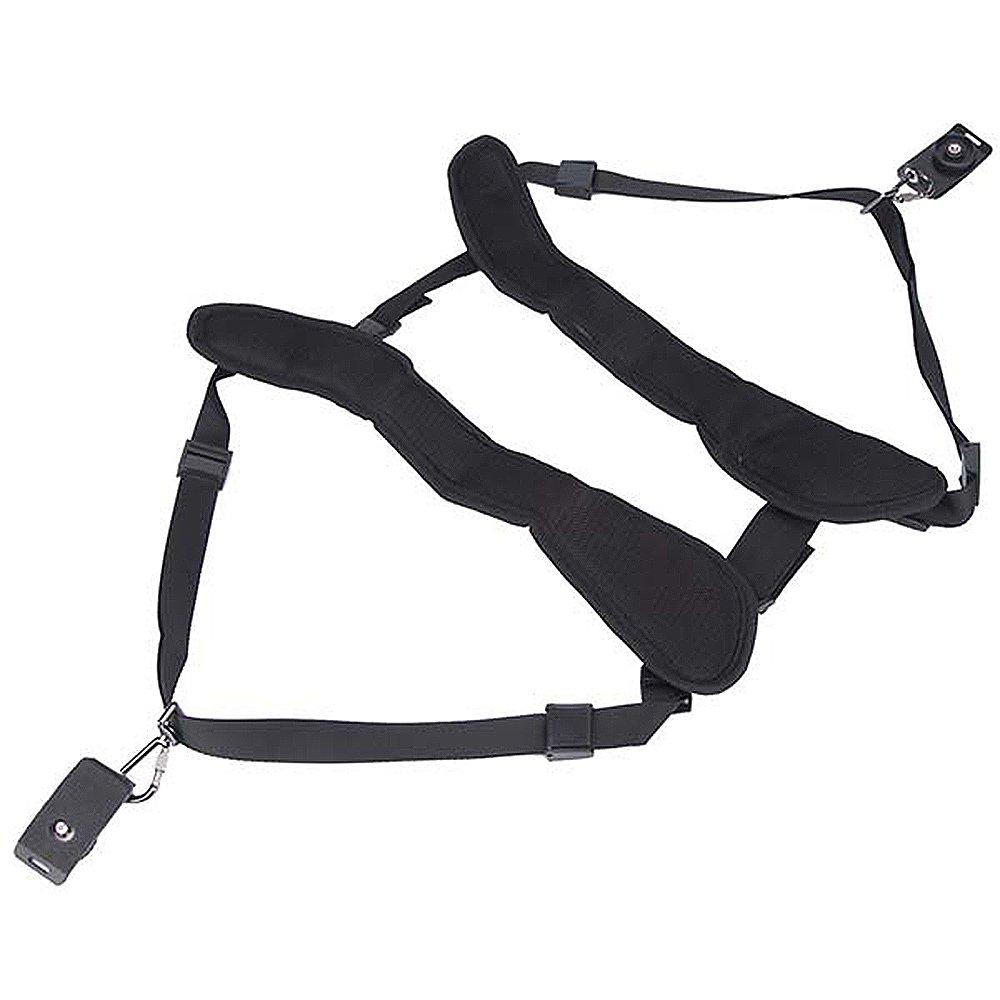 Image Double Dual Shoulder Quick Release Neck Belt Sling Strap For Caden Rapid Camera Kamera Two Dslr Canon Nikon Sony Pentax Panasonic Slr Cameras