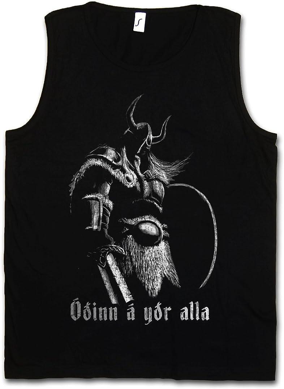 Urban Backwoods Viking Battlecry Hombre Camiseta Sin Mangas Men Tank Top