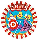 BirthdayExpress Carnival Games Dinner Plates (16)