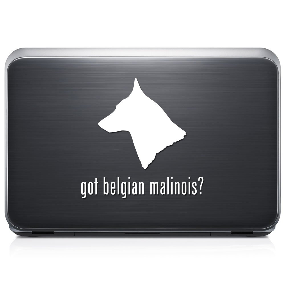 Got Belgian Malinois Dogペット取り外し可能なビニールデカールステッカーforラップトップタブレットWindows壁装飾車トラックオートバイヘルメット (05 in / 13 cm) Wide RSGT104-05MBLK (05 in / 13 cm) Wide グロスブラック B07631F2NV