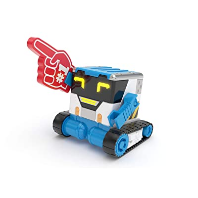 Really R.A.D Robots 27805 Mibro - Really Rad Robots, Interactive Remote Control Robot - Plays, Talks, and Pranks, Multicolor: Toys & Games