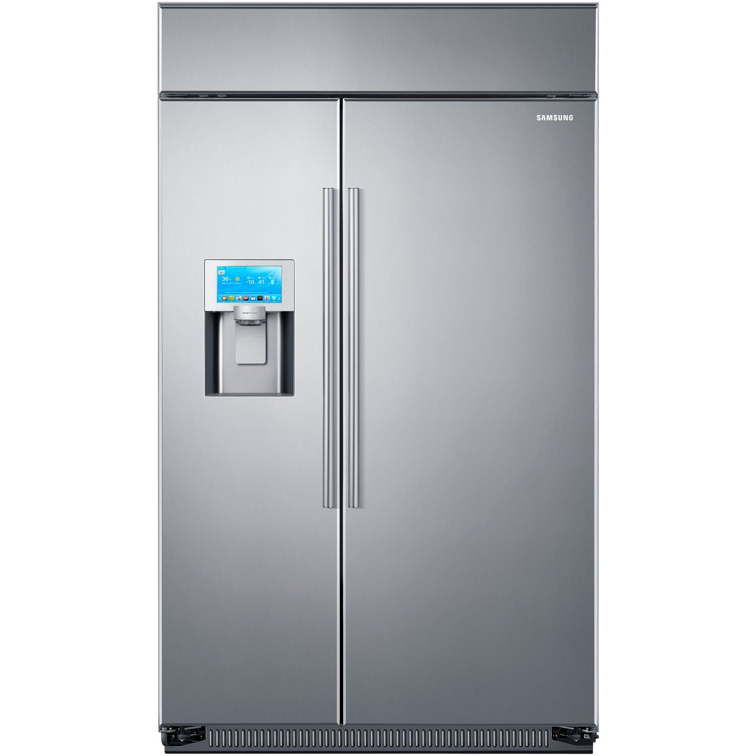 Commercial refrigerator for home use - Amazon Com Samsung Rs27fdbtnsr Built In Side By Side Refrigerator 48 Inch Stainless Steel Appliances