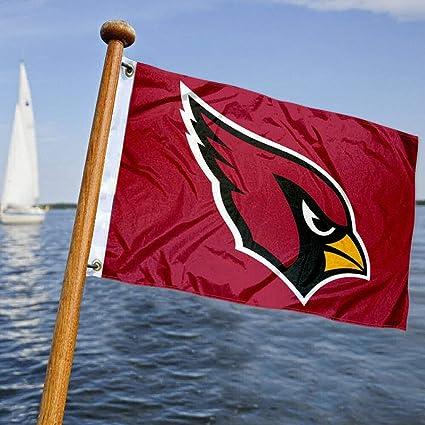Arizona Cardinals Boat Yacht Nautical Flag