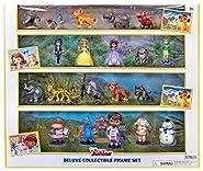 Disney Junior Deluxe Collectible Exclusive Figure Set