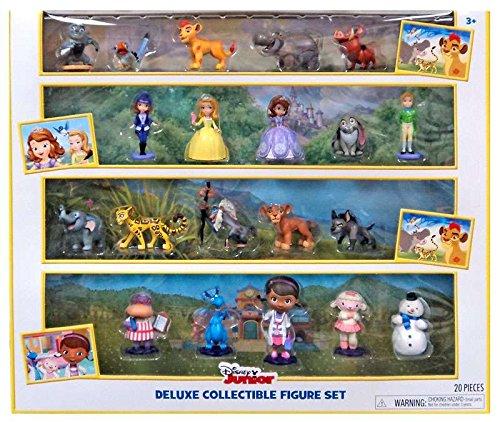 Disney Junior Deluxe Collectible Exclusive Figure Set - Exclusive Figure Set