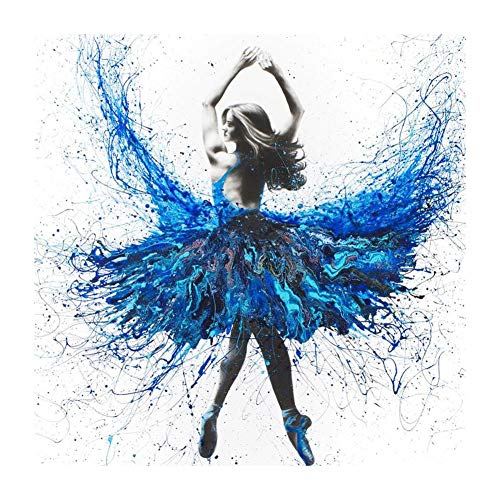 5D Diamond Painting Kits, 5D DIY Full Drill Diamond Painting Novelty Ballet Dancer Cross Stitch Kits