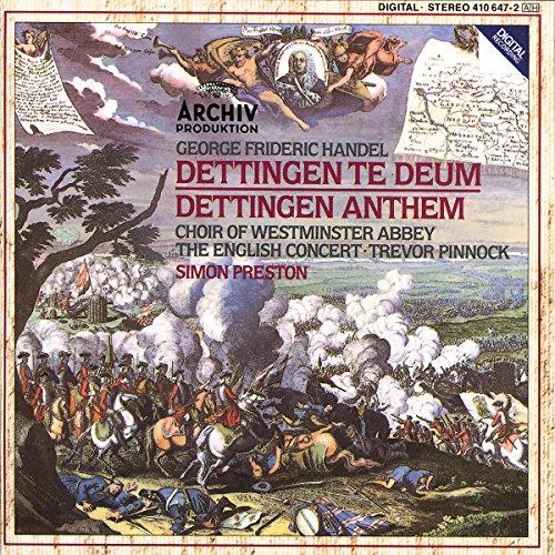 Handel: Dettingen Te Deum; Dettingen (Dettingen Te Deum)