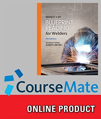 Amazon coursemate for bennettsiys blueprint reading for coursemate for bennettsiys blueprint reading for welders 9th edition malvernweather Image collections